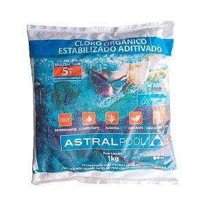 Cloro Orgânico Multiaction 5 EM 1 - Astralpool