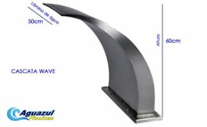 Cascata Wave Fix. Direta - Librainox