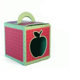 Caixa maçã