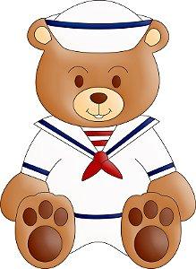 Aplique Ursinho Marinheiro