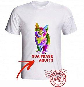 Camiseta Personalizada Gato