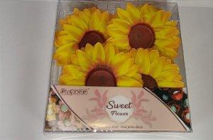 Forminha Girassol Ideal para todos os tipo de doces Um charme pára sua mesa muito Linda