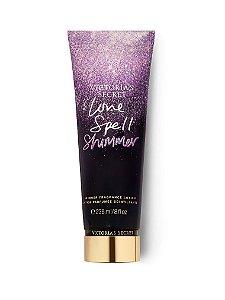 Hidratante victoria secrets  love spell in shimmer
