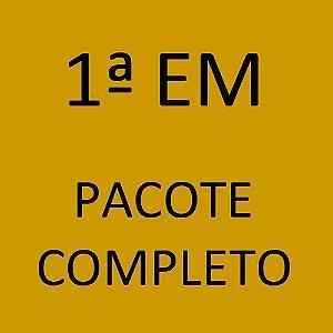 1ª EM Pacote Completo Novo Ensino Médio Alfa Estudos Avançados (Sistema Anglo de Ensino + Programa Semente + Livros Paradidáticos)