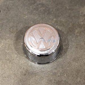 Sobre Tampa do Cubo Dianteiro Volkswagen 3/4 Cromada