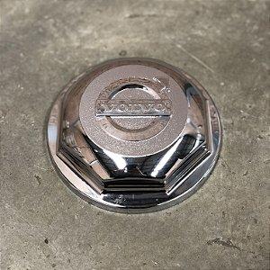 Sobre Tampa do Cubo Dianteiro Volvo FH / NH / FM Cromada