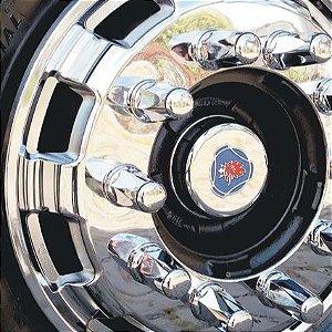 Calota Dianteira Cromada SpeedTruck R22,5 - Unidade