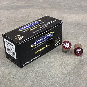 Lâmpada 67 em LED 1 Polo Bivolt 12/24V - Vermelha