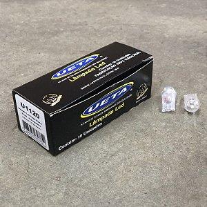 Lâmpada T10 em LED Bivolt 12/24V - Branca
