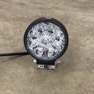 Farol de Milha em LED 27w Mini Redondo Bivolt