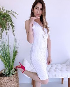 Vestido Tricot Modal - BLR
