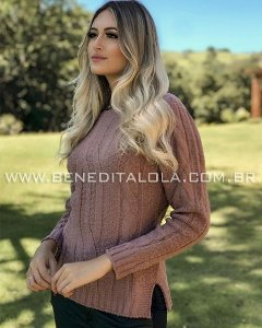 Blusa Tricot Mousse Laura Inverno 2020 - BD