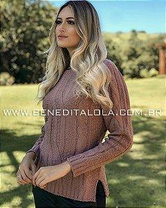 Blusa Tricot Feminina Mousse Lauriel Inverno 2019 - BD