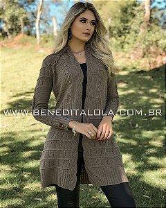 Casaco Tricot Feminino Mousse Lunna Inverno 2020  - BD 3077