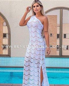 Vestido Longo Tricot Amanda Verão 2020  -MN