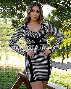 Vestido Tricot Modal Lory Inverno 2020 -MD