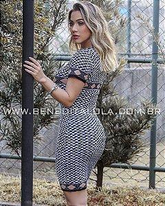 Vestido Tricot Modal Katherine Verão 2020 - KW
