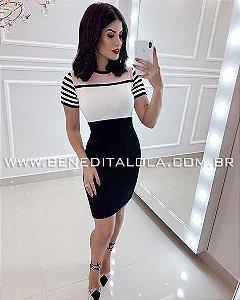 Vestido Tricot Modal Lidy Verão 2020- MD