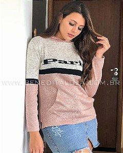 Blusa Tricot Paris Inverno 2021 - SK 1115
