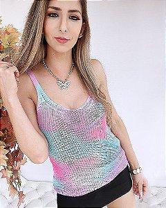 Regata Tie Dye 2 Tricot Verão 2021
