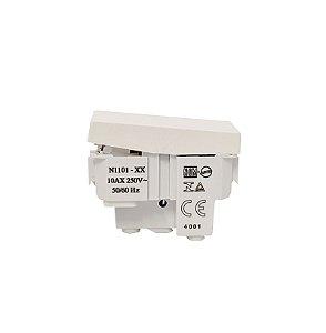 Módulo Interruptor Simples 10A Branco - LINHA UNNO ABB