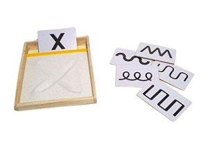 Caixa de escrita sensorial