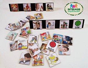 Placas de Rotina Diária para Autista