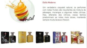 Perfumes masculino e feminino 30ml - embalagem de bolsa