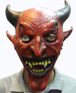Máscara Demônio Diabo Capeta