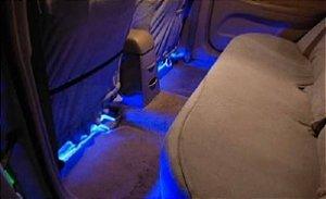 Iluminação LED Interior Carro