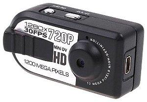Mini Câmera Espiã Filmadora HD 720P