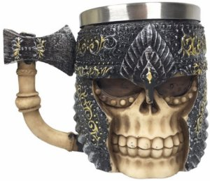 Caneca Viking Caveira do Traidor