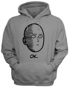 Moletom Ok One Punch Man
