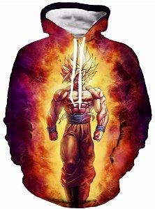 Moletom Goku Super Saiyajin 1