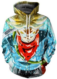 Moletom Trunks Super Saiyajin Fúria