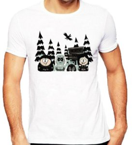 Camiseta Game of Thrones - South Park