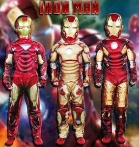 Iron Man Fantasia Infatil
