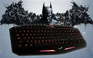 Teclado Gamer Luz Led Genius