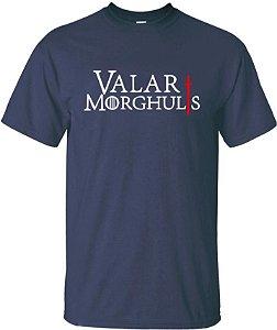 Camiseta Valar Morghulis Game Of Thrones