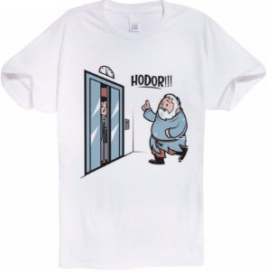 Camiseta Hodor Game Of Thrones
