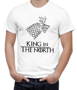 Camiseta King In The North Game Of Thrones