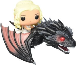 Daenerys e Dragão Game Of Thrones
