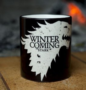 Caneca Winter is Coming Game Of Thrones