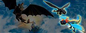Como Treinar seu Dragão - Bonecos Dragões