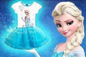 Vestido Frozen - Princesas