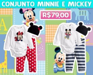 Conjunto Minnie Mickey