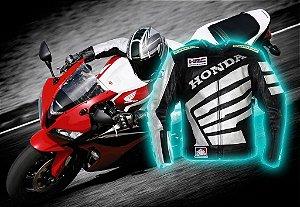 Jaqueta Honda de Couro