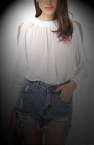 Blusa Ombro Vazado