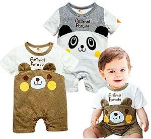 Roupa Infantil Panda Cartoon