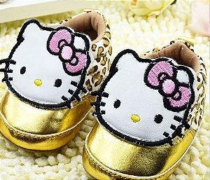 Meninas Sapatinhos Minnie e Hello Kitty